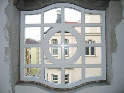 Modernes Fenster nach Denkmalschutzvorgabe
