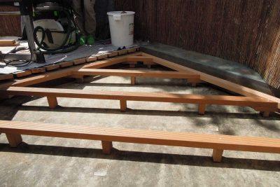 Erneuerung Balkonbelag aufgeständert